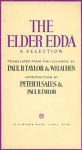 The Elder Edda: A Selection - Anonymous, W.H. Auden, Paul B. Taylor