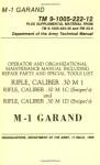 U.S. Army M-1 Garand Technical Manual - U.S. Department of the Army