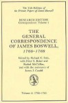 The General Correspondence of James Boswell, 1766-69: Vol 2: 1768-69 - James Boswell, Richard C. Cole, Peter S. Baker, James J. Caudle, Rachel McClellan