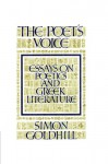 The Poet's Voice: Essays on Poetics and Greek Literature - Simon Goldhill