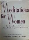 Meditations for Women - Jean Beaven Abernethy