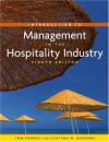 Introduction to Management in the Hospitality Industry, Eighth Edition and Nraef Student Workbook Package - Thomas F. Powers, Jo Marie Powers, Clayton W. Barrows