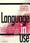 Language in Use Intermediate Self-Study Workbook with Answer Key - Adrian Doff, Christopher Jones