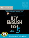Cambridge Key English Test 5 Self Study Pack: Official Examination Papers from University of Cambridge ESOL Examinations [With CD (Audio)] - Cambridge ESOL
