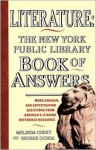 Literature: New York Public Library Book of Answers - Melinda Corey, George Ochoa