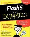 Flash 5 for Dummies [With CD-ROM Included] - Gurdy Leete, Ellen Finkelstein