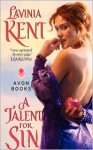 A Talent for Sin - Lavinia Kent, Lavinia Klein