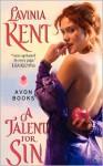 A Talent for Sin - Lavinia Kent, Lavinia Klein