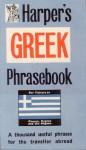 Greek Phrasebook - Frances R. Harper, C. Lymbourides