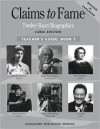 Claims To Fame Book 1 Teacher's Guide - Carol Einstein