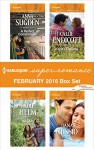 Harlequin Superromance February 2016 Box Set: A Perfect CompromiseAll I AmKayla's CowboyStrength Under Fire (The New Jersey Ice Cats) - Anna Sugden, Nicole Helm, Callie Endicott, Dana Nussio