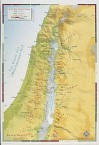 Abingdon Bible Land Map--Israel's Settlement in Canaan - Leslie D. Weatherhead