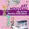 Art Nouveau Clip Art for Machine Embroidery - Alan Weller