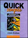 Quick, Simple Microsoft Windows 2000 - Linda Ericksen