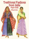 Traditional Fashions from India Paper Dolls - Ming-Ju Sun