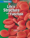 Life Structure and Function - glencoe science, Dinah Zike, Alton Biggs