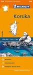 Michelin Korsika: Straßen- und Tourismuskarte 1:200.000 (MICHELIN Regionalkarten) - Michelin Travel Publications