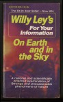 On Earth and in the Sky - Willy Ley