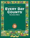 Every Day Counts, Grade 3, Calendar Math - Janet G. Gillespie, Patsy F. Kanter