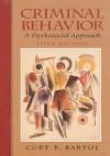Criminal Behavior: A Psychosocial Approach - Curt R. Bartol, Prentice Hallsd