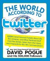 The World According to Twitter - David Pogue