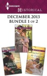 Harlequin Historical December 2013 - Bundle 1 of 2: The Texas Ranger's Heiress WifeRunning from ScandalCourted by the Captain - Kate Welsh, Amanda McCabe, Anne Herries