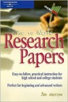 How to Write Research Papers - Sharon Sorenson