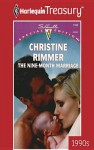 Nine-Month Marriage (Bravo Family #1) - Christine Rimmer