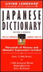 Basic Japanese Dictionary - Living Language