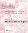 Population, Economy and Family Structure in Hertfordshire in 1851: Volume 2: St. Albans and its Region - Nigel Goose, Lisa Cordes, Margaret Smith