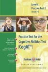 Cognitive Abilitiest Test CogAT® Multilevel A Book (Grade 2*) - Practice Test 2 - Mercer Publishing