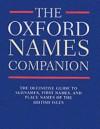 The Oxford Names Companion - Patrick Hanks