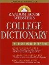 Random House Webster's College Dictionary - Random House, Websters