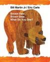 Brown Bear, Brown Bear, What Do You See? (Board Book) - Bill Martin Jr., Eric Carle
