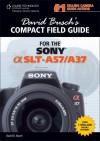David Busch's Compact Field Guide for the Sony Alpha SLT-A57/A37 - David D. Busch
