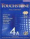 Touchstone 4a Full Contact [With DVD] - Michael McCarthy, Jeanne McCarten, Helen Sandiford