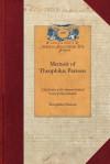 Memoir of Theophilus Parsons - Theophilus Parsons