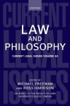 Law And Philosophy - Michael D.A. Freeman, Ross Harrison