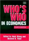 Who's Who In Economics - Mark Blaug