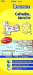 Michelin Map France: Calvados, Manche 303 - Michelin Travel Publications