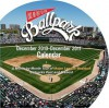 Take Me Out to the Ballpark Calendar: A Month-By-Month Tour of Major League Baseball Ballparks Past and Present - Josh Leventhal