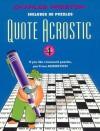 Quote Acrostic 4 - Charles Preston