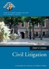Bar Manual: Civil Litigation 2005/6 (Blackstone Bar Manual) - Inns of Court School of Law
