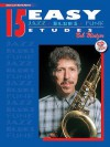 15 Easy Jazz, Blues & Funk Etudes: Bass Clef Instrument, Book & CD - Bob Mintzer