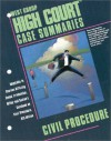 Civil Procedure (High Court Case Summaries) - Brian Arnold, Jennifer Cummings