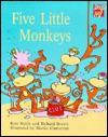 Five Little Monkeys - Richard Brown, Kate Ruttle