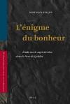 L'Enigme Du Bonheur: Etude Sur le Sujet Du Bien Dans le Livre de Qohelet - Bertrand Pin, Bertrand Pincon