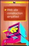Web Site Construction Simplified - Ian Robertson Sinclair
