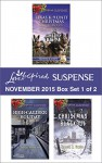 Love Inspired Suspense November 2015 - Box Set 1 of 2: Protecting VirginiaGuarding AbigailHigh-Caliber HolidayChristmas Blackout (Capitol K-9 Unit) - Shirlee McCoy, Lenora Worth, Susan Sleeman, Maggie K. Black