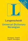 Langenscheidt Universal Norwegian Dictionary: Norwegian-English/ English-Norwegian - Langenscheidt